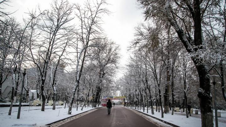 Снег и мороз: в Ростове прогнозируют похолодание на выходных