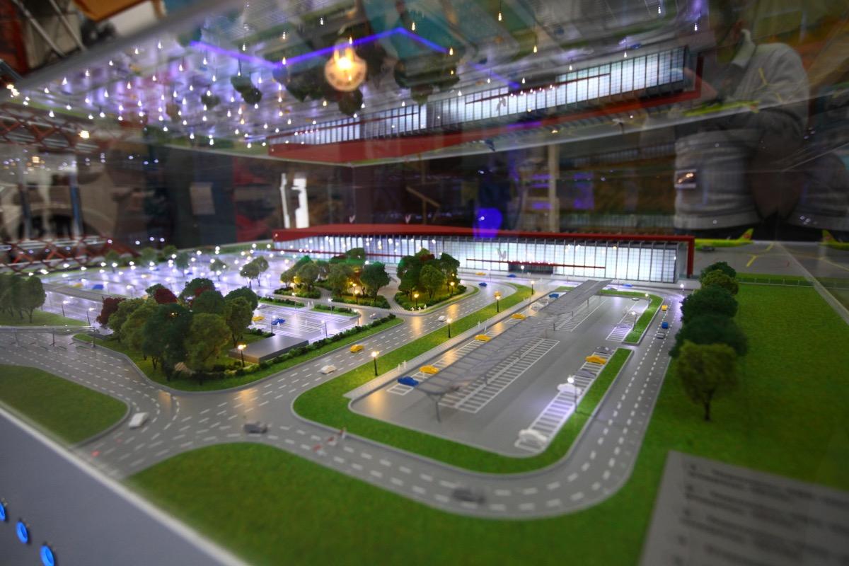 Проект развития аэропорта рассчитан до 2023 года