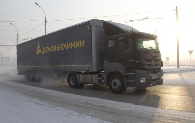 Компания «Деловые Линии» вышла в лидеры среди фирм-грузоперевозчиков