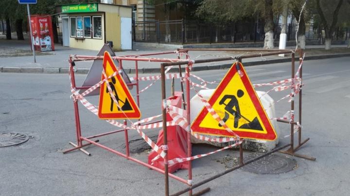 Многострадальный перекресток в центре Волгограда дождется ремонта только к зиме