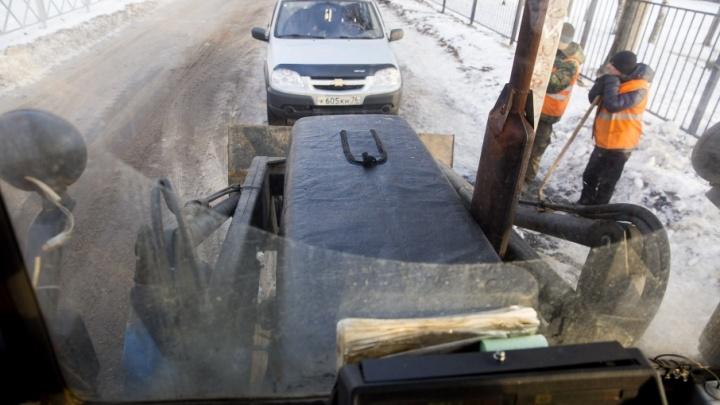 САХ: нам сказано чистить дороги до асфальта, но ярославцы просят оставить снег