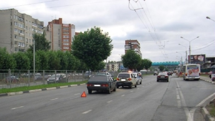 В ДТП на Московском проспекте пострадал годовалый ребенок
