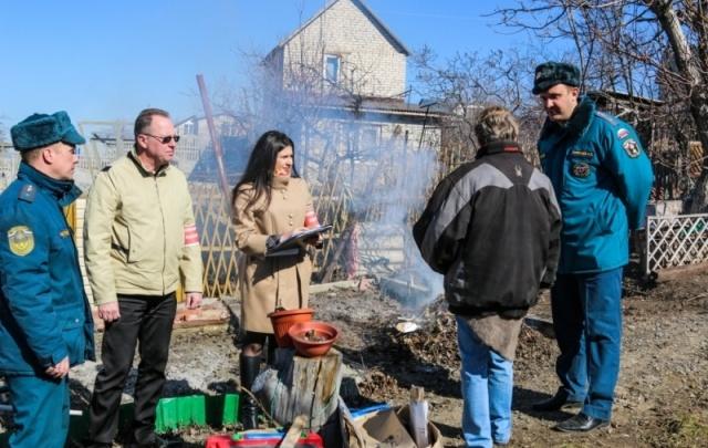 В Волгоградской области за пожарами следят при помощи беспилотников