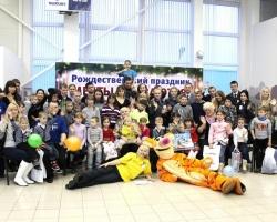 Автосалон «Модус» подарил детям радость