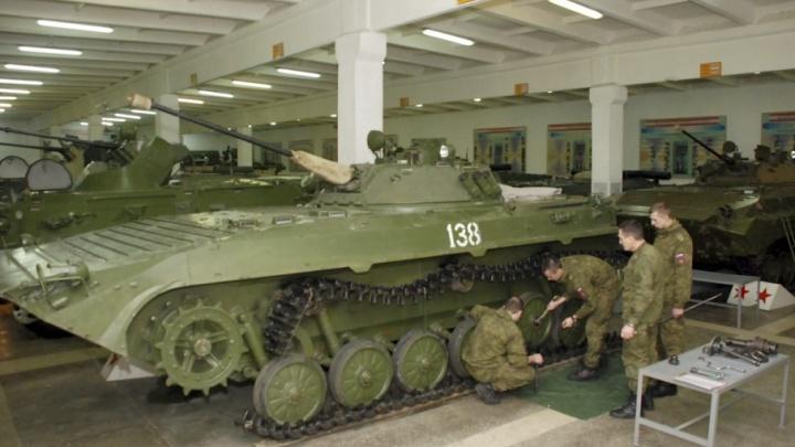 В новой части на Южном Урале займутся ремонтом автобронетанковой техники