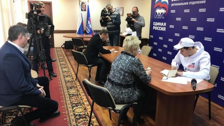 В Волгограде состоялся секретный сбор подписей за Владимира Путина