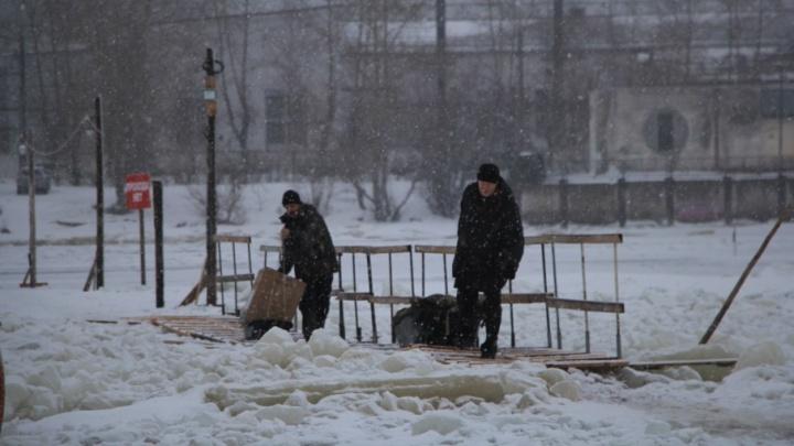 Во вторник Поморье ожидает снегопад