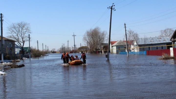 В Самарской области подтопило шесть низководных мостов