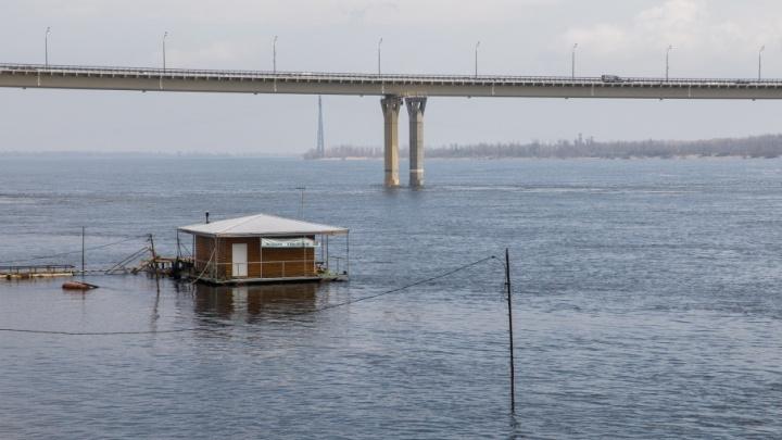 В Волгоград на неделю раньше пришла большая вода