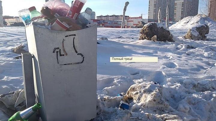 «Полный треш!»: Артемий Лебедев оценил самарские мусорки
