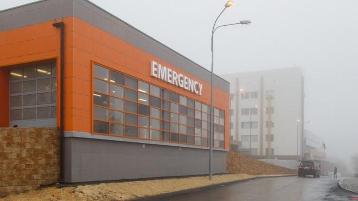 В 25-й больнице Волгограда достроили новое приемное отделение