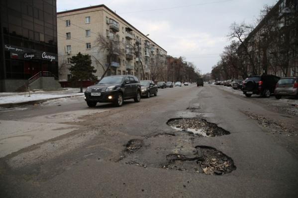 Кариозную дырку в Советской разъело всего за один день оттепели