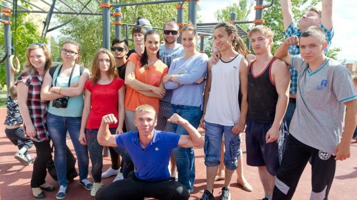 Олимпийская чемпионка Софья Великая открыла воркаут-площадку под Волгоградом