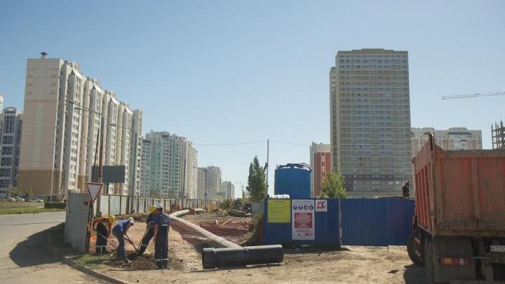 Строительство третьей очереди коллектора №53 завершится осенью