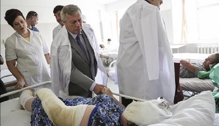 Губернатор попросил Дмитрия Медведева выделить средства на помощь ростовским погорельцам