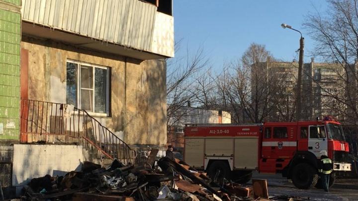 Мэрия готова помочь с деньгами на ремонт погоревшего в центре Челябинска общежития