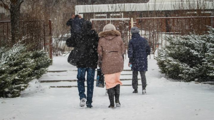 В Ростов идут снег, гололед и штормовой ветер