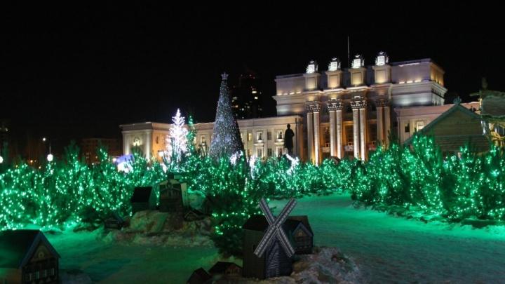Усадьба Деда Мороза на площади Куйбышева будет работать с 26 декабря по 8 января