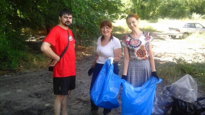 Ростовчан просят спасти Зеленый остров от груды мусора