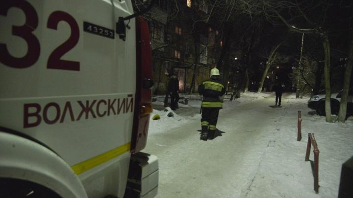 В пострадавший от взрыва дом Волжского зайдут строители