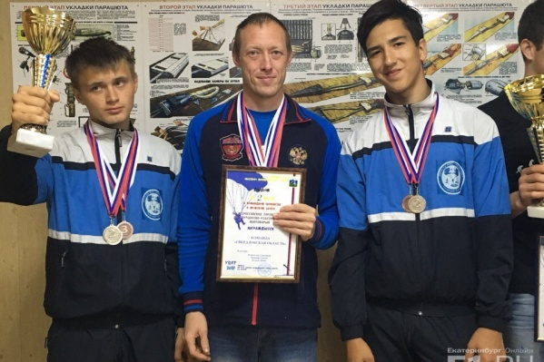 Команда из Свердловской области завоевала второе место.