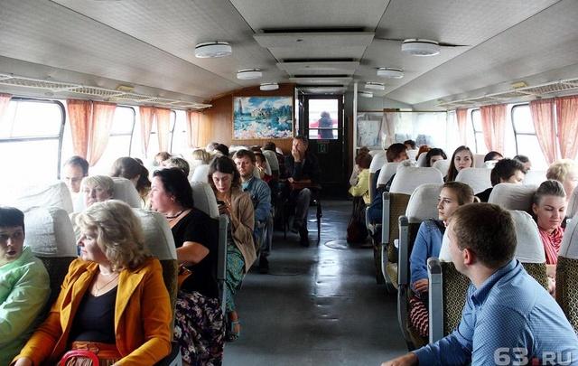 В  Самаре на майские праздники временно изменят расписание переправы через Волгу