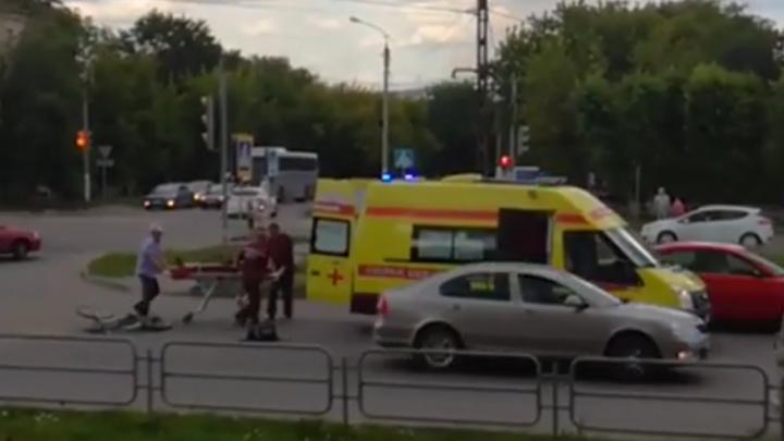 Велосипедистку, попавшую под скорую в Магнитогорске, оштрафуют на 500 рублей