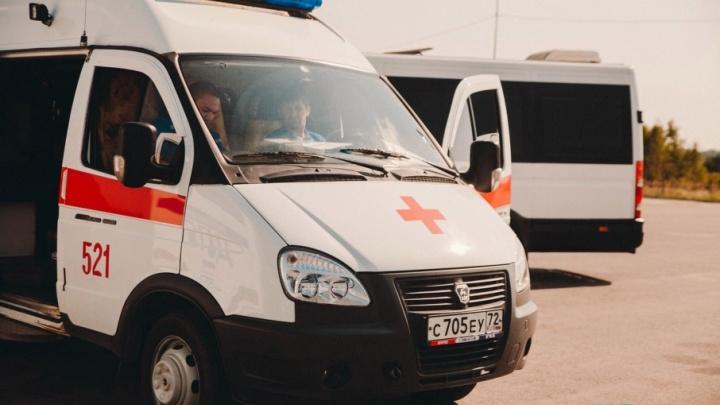 На трассе под Тюменью насмерть разбился мотоциклист