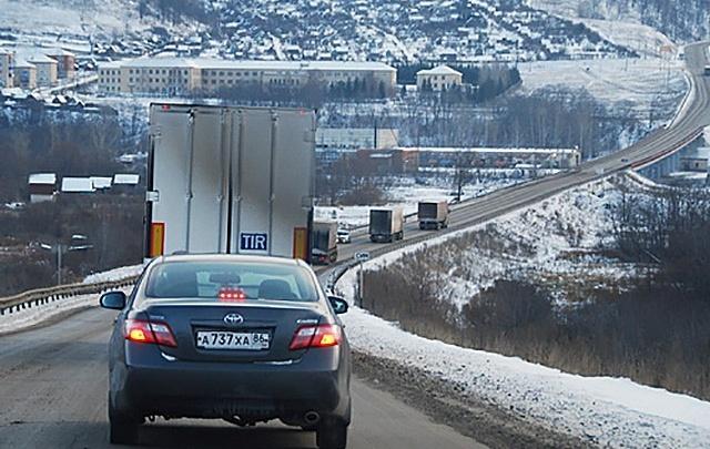 Трассы в Челябинской области закроют для большегрузов из-за сырости