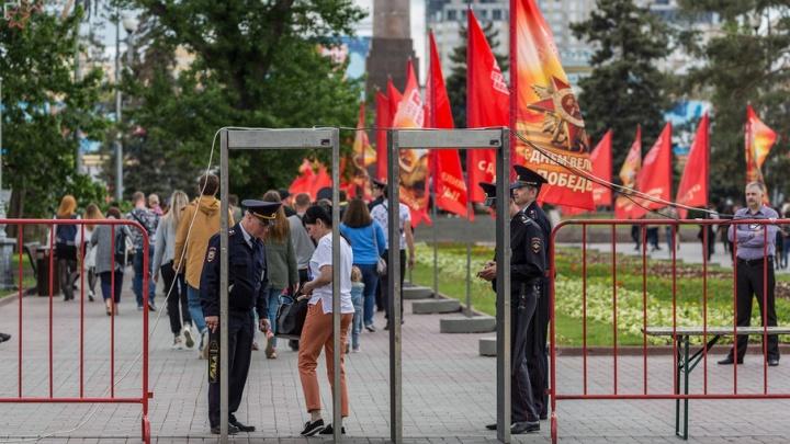 В Волгограде ищут похитителей праздничных флагов