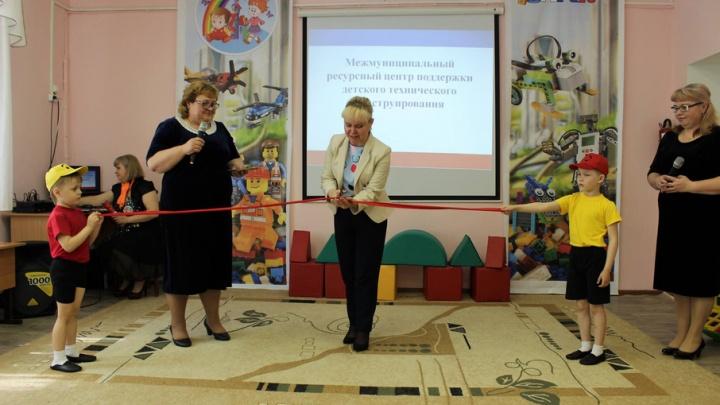 В Прикамье открылись детские сады, в которых дети будут заниматься робототехникой и конструированием