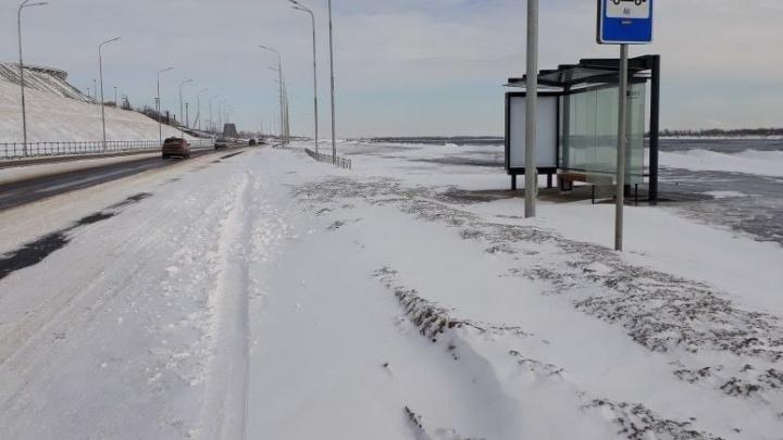 Нулевая Продольная Волгограда спряталась под слоем неубранного снега