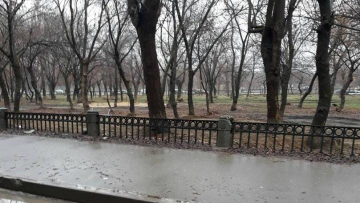 Мундиаль животворящий: в Волгограде реанимируют давно вросший в землю забор
