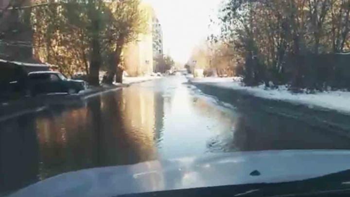 «Помыло улицы»: из-за коммунального ЧП несколько домов Челябинска остались без воды