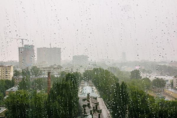 Дожди придут в Самару только в конце недели