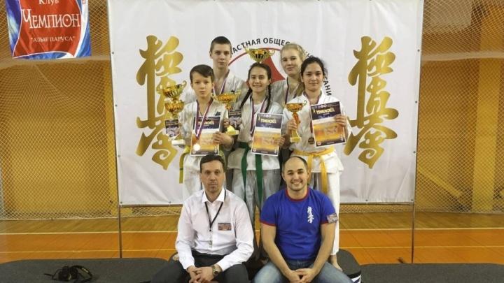 Каратисты Поморья завоевали пять наград на первенстве СЗФО