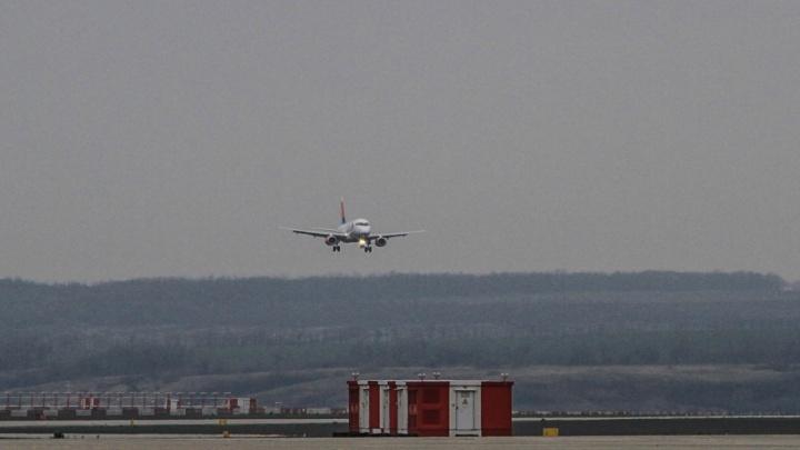 Два пассажирских самолета едва не столкнулись в небе над Ростовской областью