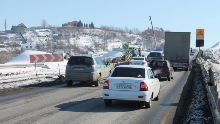 «Нужен надземный переход»: самарцы просят обезопасить Красноглинское шоссе