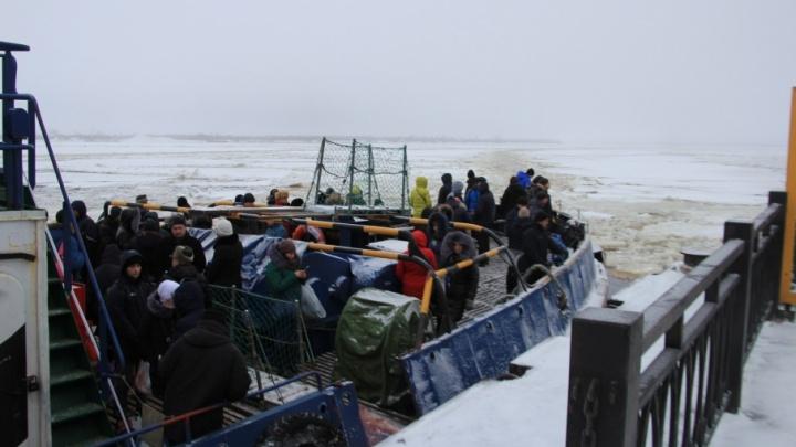 По просьбам жителей островных территорий буксиры в Архангельске будут работать дольше