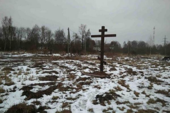 В Ярославле осветят крест на месте строительства храма
