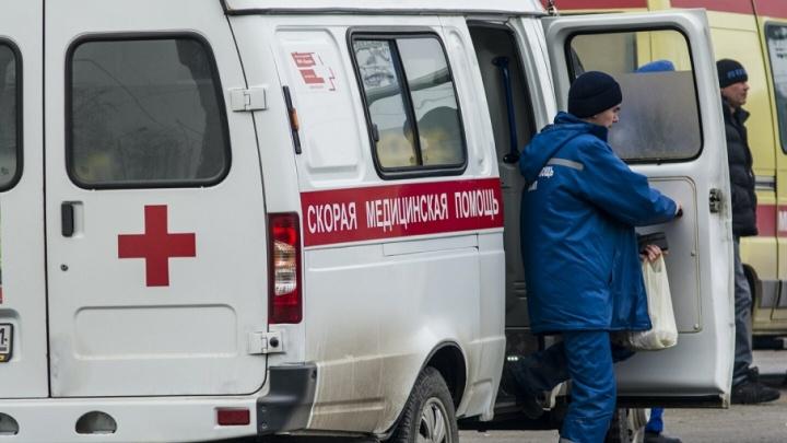 В Ростове в ДТП попала машина скорой помощи