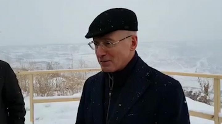 «Будет место отдыха»: замглавы Ростехнадзора похвалил РМК за проект рекультивации разреза