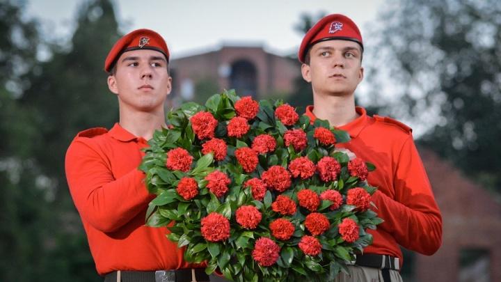 Акция «День памяти и скорби» прошла в Ростове