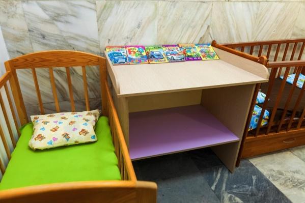 При залах ожидания на «Юности» и «Синегорье» появились комнаты матери и ребёнка
