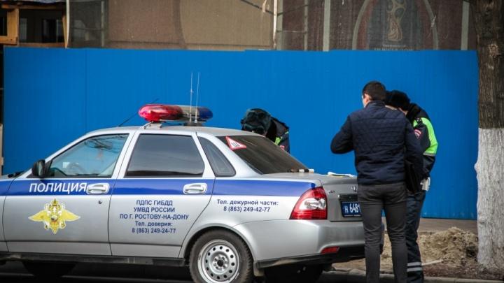 За новогодние праздники донские полицейские задержали 450 нетрезвых водителей