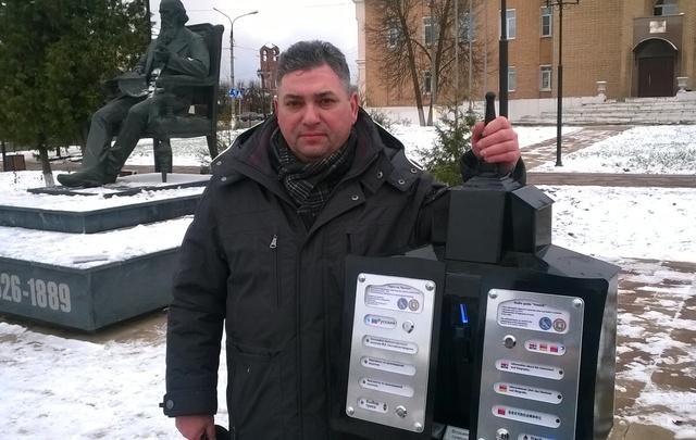 Ростовский предприниматель заставил говорить памятники