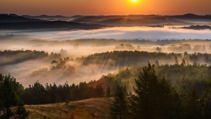 Утро стелется взбитыми сливками: читатели 74.ru выбрали лучший снимок сентября