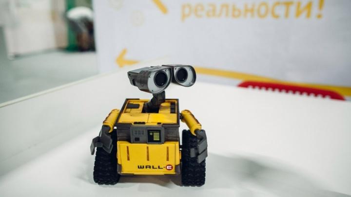 Виртуальная реальность и полеты на квадрокоптерах: в Перми работает выставка «Робополис»