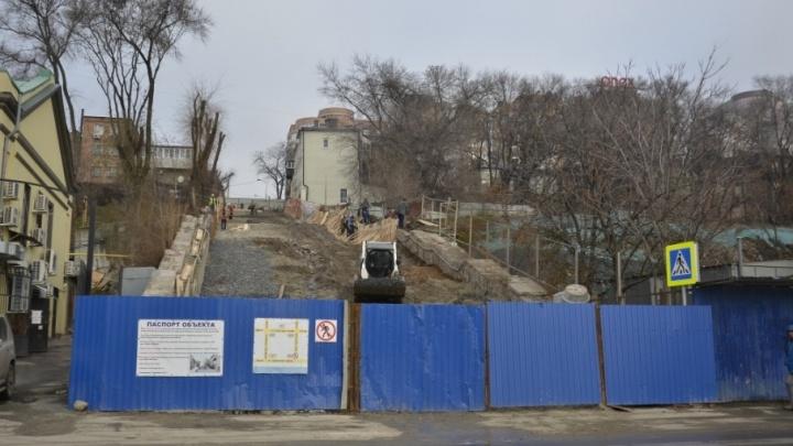 В Ростове на Казанской лестнице появится лифт для инвалидов