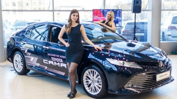 Абсолютно новую Toyota Camry представили в Тойота Центр Архангельск